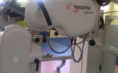 El Lokomat llega a la Fundación para rehabilitar a personas con daño cerebral