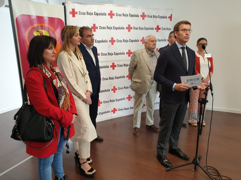 El Presidente de la Xunta de Galicia avanza que Castro de Rei contará con la primera unidad de atención dual de Lugo